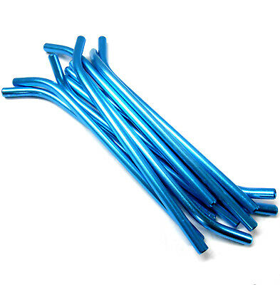£2.30 • Buy L11248 RC Nitro Fuel Refill Bottle Pipes X 10 Light Blue Pipes Only 6mm Diameter