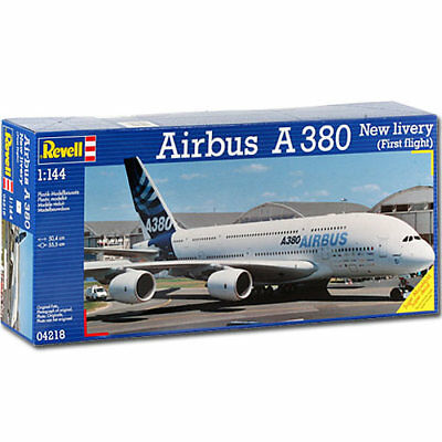 REVELL Airbus A380  New Livery  1:144 Aircraft Model Kit - 04218 • 24.95£
