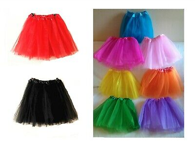 High Quality New Tutu Skirt LADY WOMEN GIRLS KIDS  Fancy Dress Skirts Hen Party • 3.99£