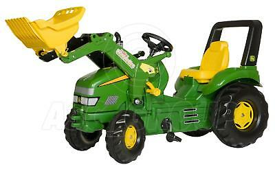 £232.68 • Buy Rolly Toys - X-TRAC JOHN DEERE XL Ride On Pedal Tractor & Trac Loader Age 3-10