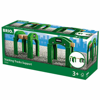 £10.61 • Buy BRIO 33253 Stacking Track Supports - Box Of 2 For Wooden Train Set