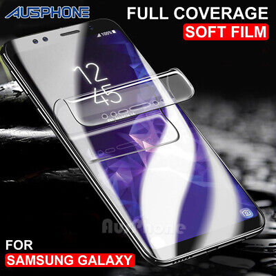 AU2.95 • Buy HYDROGEL AQUA Screen Protector For Samsung Galaxy S9 S8 Plus Note 8 9 S7 Edge