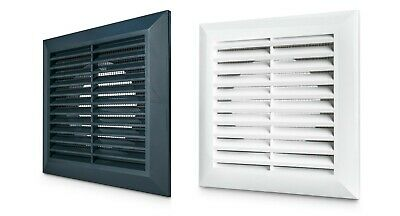£7.49 • Buy Air Vent Grille With Fly Screen / External Internal Ducting Ventilation Cover