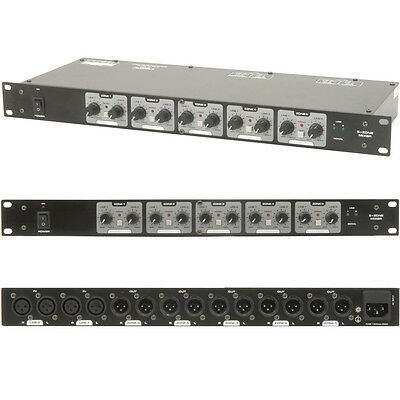 XLR Speaker Matrix Zone Mixer For Amplifiers-Switch/Splitter-Distribution Box DJ • 109.99£