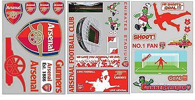 £5.99 • Buy Arsenal FC Football Official Wall Stickers Art Self-Adhesive Borders Removable