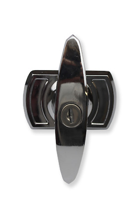 £13.80 • Buy Replacement Garage Door Handle Universal Square Bar In Stylish Polished Chrome