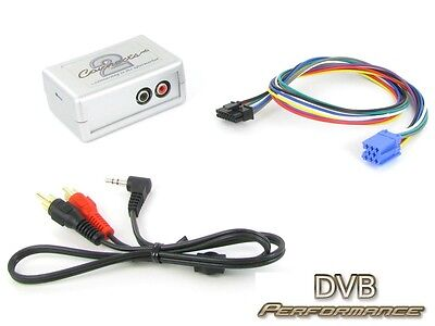 Connects2 CTVPGX010 Peugeot  307 2002 - 2005 MP3 IPod Aux Input Audio Adaptor • 33.50£