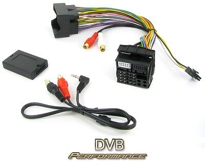 Connects2 CTVPGX011 Peugeot 307 2005 Onwards MP3 IPod Aux Input Audio Adaptor • 33.50£