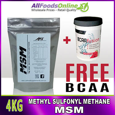AU95.80 • Buy MSM - Methyl Sulfonyl Methane - Bone, Joint And Ligament Support - Pure - 4kg