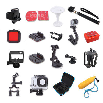 AU16.29 • Buy Pack Storage Carry Case Head Chest Mount & Accessories F GoPro HD Hero 5 4 3 3+6