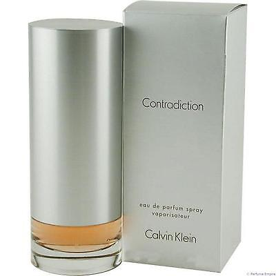Ck Calvin Klein Contradiction For Women 100ml Edp Spray Brand New & Sealed * • 20.98£