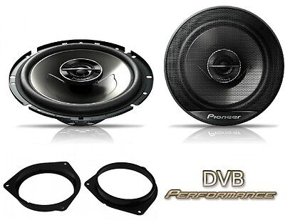 Toyota Avensis 09 Onwards Pioneer 17cm Front Door Speaker Upgrade Kit 240W • 42.49£
