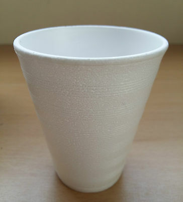 £4.37 • Buy 7oz  Foam Polystyrene Cups Disposable Hot Cold Drinks Juice Tea Cheap!