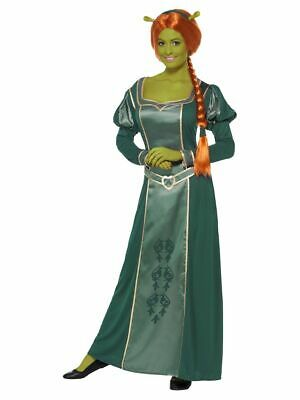 Ladies Licensed Fiona From Shrek Fancy Dress Costume Outfit By Smiffys • 58.99£