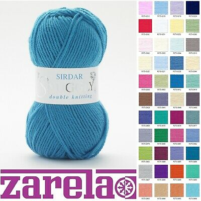 Sirdar Snuggly DK Double Knitting Wool/Yarn - 50g - ***ALL COLOURS*** • 2.69£