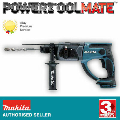 View Details Makita DHR202Z 18v LXT Cordless SDS+ Hammer Drill Naked Body Only Ex  BHR202Z • 116.99£