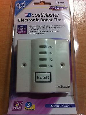 Electronic Boost Timer Switch Immersion Switch Energy Saving TGBT4 Timeguard New • 27.01£