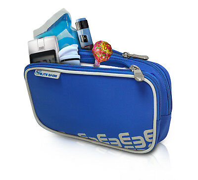 Elite Cool Bag / Pouch For Insulin & Diabetic Kit Organiser Blue With Cool Pack • 13.99£