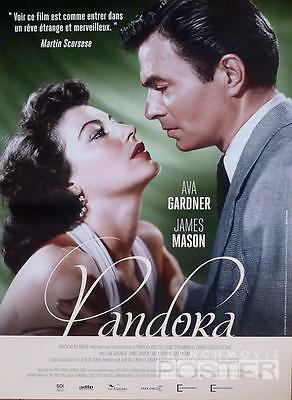 Pandora - Ava Gardner / James Mason - Reissue Small French Movie Poster • 25.32£