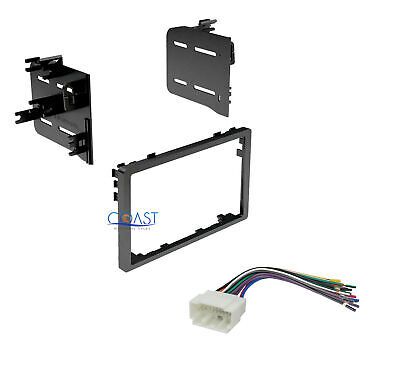 $12.95 • Buy Double DIN Car Stereo Dash Kit Wire Harness For Select 1986-2010 Honda Acura