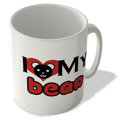 I Love My Bear (With Face) - Mug • 9.99£