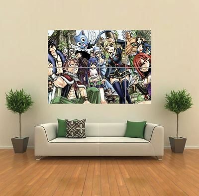 £14.49 • Buy Fairy Tail Anime Manga  New Giant Poster Wall Art Print Picture G1117