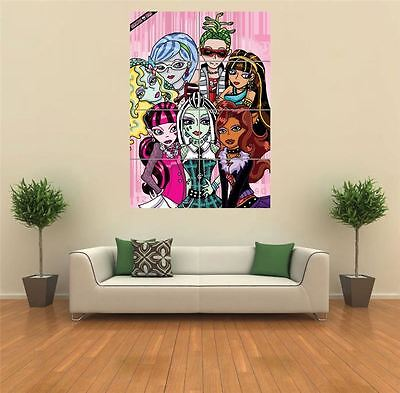 £14.49 • Buy Monster High  New Giant Poster Wall Art Print Picture G1373