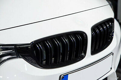 $ CDN89.46 • Buy For BMW F30 F31 Matte Black Kidney M M3 Performance Front Grill Saloon