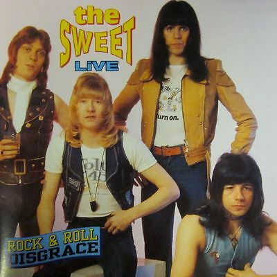 The Sweet(CD Album)Rock & Roll Disgrace-Receiver-RRCD169-UK-New & Sealed • 5.29£