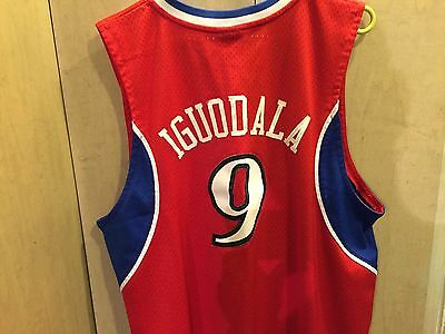 $ CDN25 • Buy ANDRE IGUODALA Jersey Philly SZ XL NBA Adidas