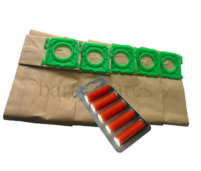 5 Vacuum Cleaner  Dust Bags & Air Fresh For Sebo X1 X4 X4 Extra Vacuum Cleaner • 6.54£