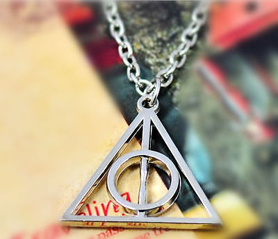 $0.99 • Buy Movie Harry Potter Deathly Hallows Hot Metal Silver Gift Pendant Necklace