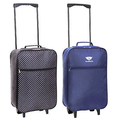 £12.99 • Buy Ryanair 55 Cm Cabin Carry On Hand Luggage Suitcase Approved Trolley Case Bag