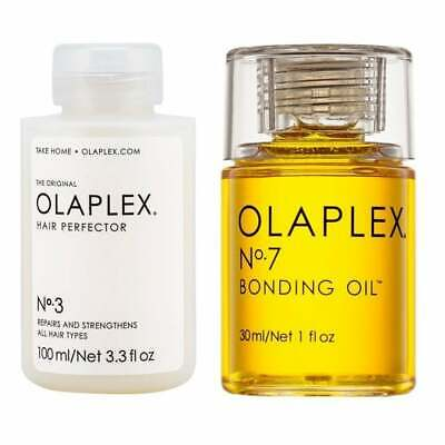 AU140 • Buy OLAPLEX NO.3 HAIR PERFECTOR 100ml NEW & SEALED  &  No.7 Hair Bonding Oil 30ML