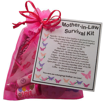 Mother-in-Law, Sister-in-Law And Daughter-in-Law Survival Kit - Novelty Gift • 6.95£