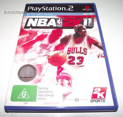 AU14.90 • Buy NBA 2K11 PS2 PAL *Complete*