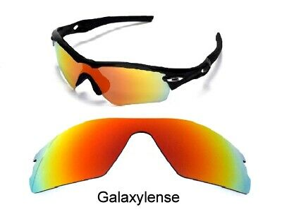 fb85231a43 Galaxy Replacement Lenses For Oakley Radar Path Fire Red Polarized 100%  UVAB • 7.02
