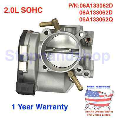 $101.99 • Buy New Complete Throttle Body Assembly Fits 01-06 Vw Golf Beetle Jetta 2.0l Sohc
