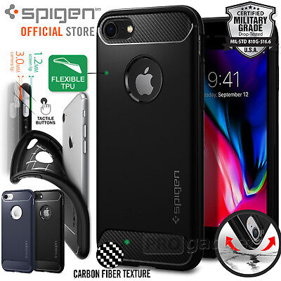 AU19.99 • Buy For Apple IPhone 8 7 Plus Case Genuine SPIGEN Rugged Armor Shockproof SLIM Cover