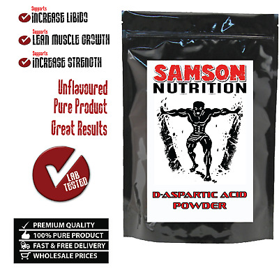 AU54.95 • Buy D-Aspartic Acid Powder 1kg, DAA Best Available Quality, Testosterone Booster