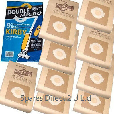 Bags For KIRBY G4 5 6 7 Ultimate G Vacuum Cleaner Bags X 18  • 11.99£