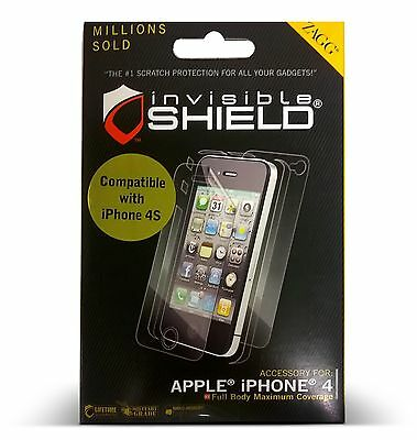 £5.06 • Buy InvisibleShield For IPhone 4/4S Screen Protector ByZagg