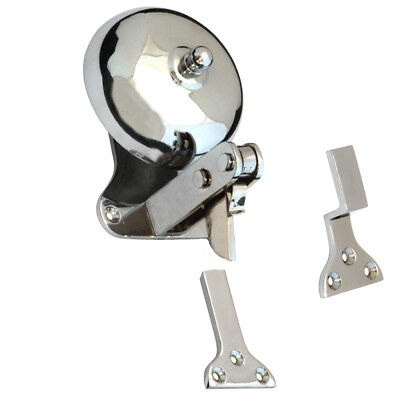 Shop Door Bell - CHROME + Domed Shape | Single Strike Alert • 22£
