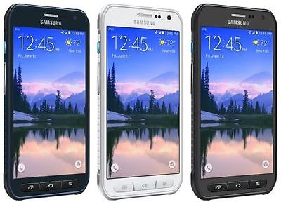 $ CDN223.67 • Buy Samsung Galaxy S6 Active G890A AT&T <UNLOCKED> 4G LTE 32GB Blue/White/Gray Great