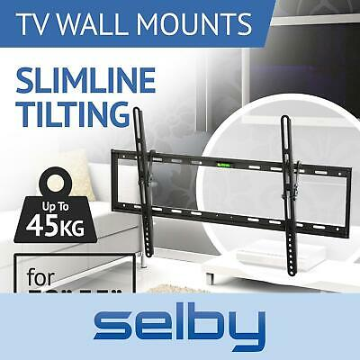 AU24 • Buy TV Bracket Wall Mount Slimline Tilting LCD LED 32 39 40 43 49 50 55 Inch Selby