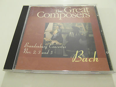 Bach - The Great Composers (CD Album) Used Very Good  • 2.25£