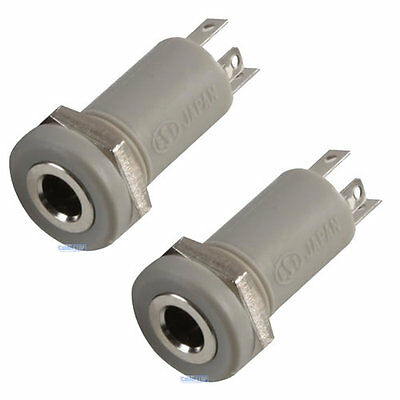 £3.47 • Buy 2 X 3.5mm Mini Stereo Jack Chassis 4 POLE 4P Panel Mount Input Socket Connector