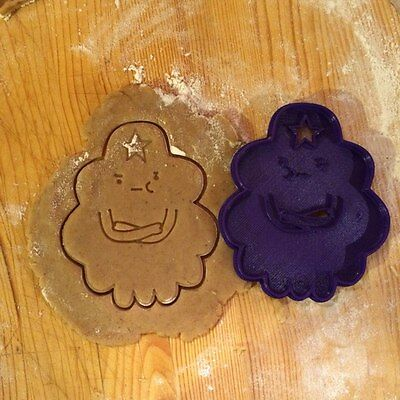 £4.67 • Buy Adventure Time - Lumpy Space Princess Cookie Cutter -1pcs-Plastic 3dprinted