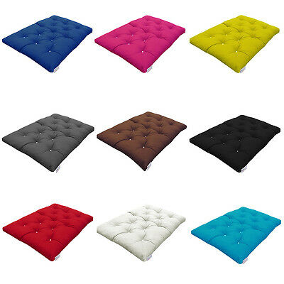 £89.99 • Buy MyLayabout Crumb Futon Mattress | Roll Out Guest Bed |190cm X 125cm | 10 Colours