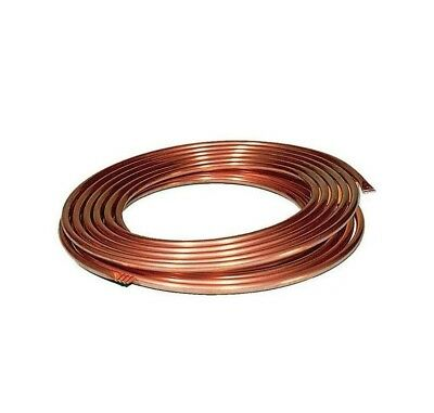 Copper Pipe Coil Water Tube Gas Central  Soft Tubing Microbore Heating Brake  • 7.99£